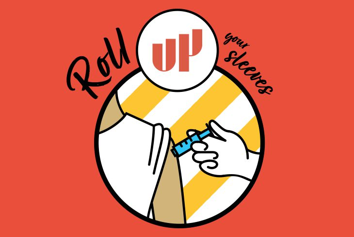 UP Roll Up Your Sleeves Logo